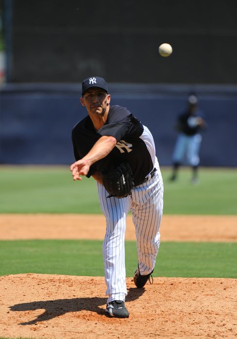 Pitcher Andy Pettitte