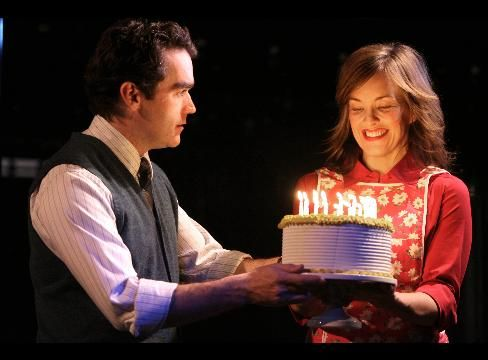 Brian d'Arcy James and Alice Ripley in
