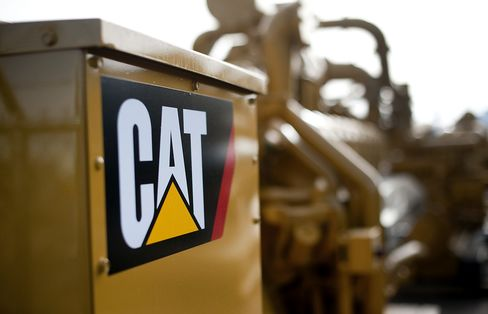Caterpillar Cuts China Production as Digger Slump Reaches Mining
