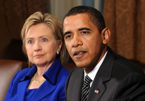 Clinton Fundraisers Step Up to Fill Obama Re-Election