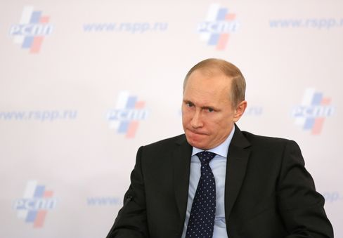 Vladimir Putin, Russia's president. Photographer: Andrey Rudakov/Bloomberg