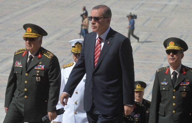 It doesn't have to beRecep Tayyip Erdogan's way.