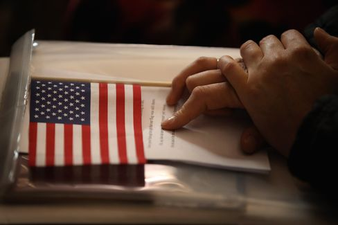 U.S. Naturalization Ceremony