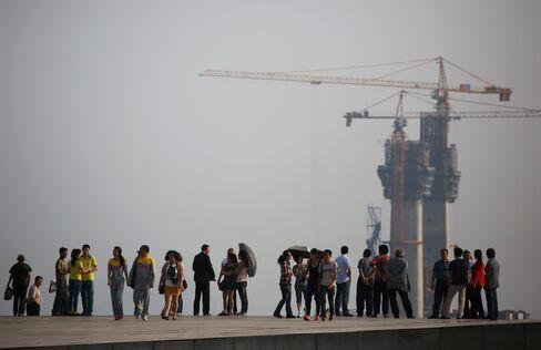Construction Site in Dalian