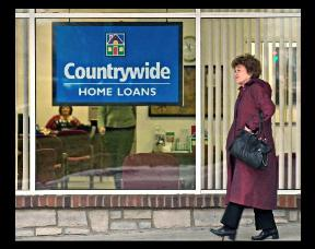 A Countrywide Home Loan office