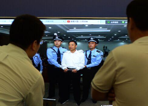 Ousted Politburo Member Bo Xilai