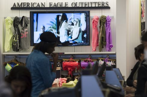 Inside an American Eagle Outfitters Store