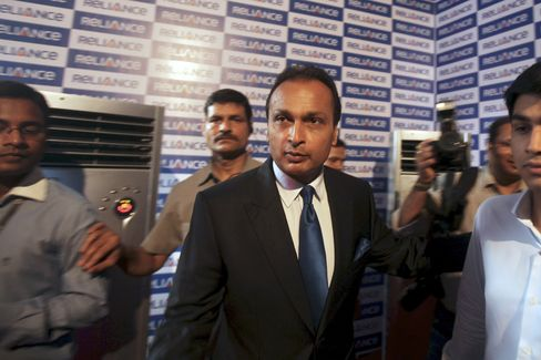 Indian Billionaire Anil Ambani