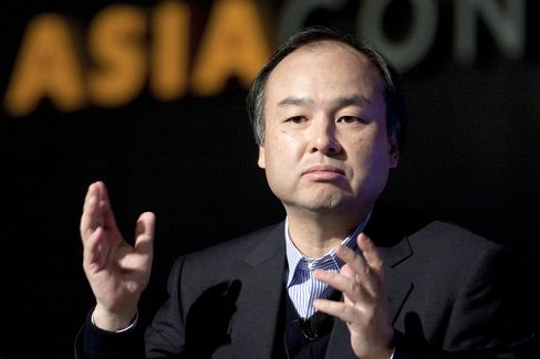 Softbank Mobile Corp. CEO Masayoshi Son