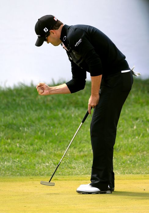 Golfer Zach Johnson