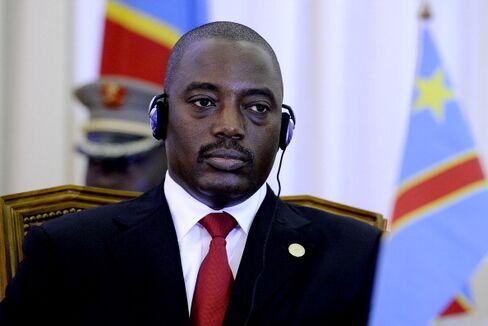 Democratic Republic of Congo President Joseph Kabila