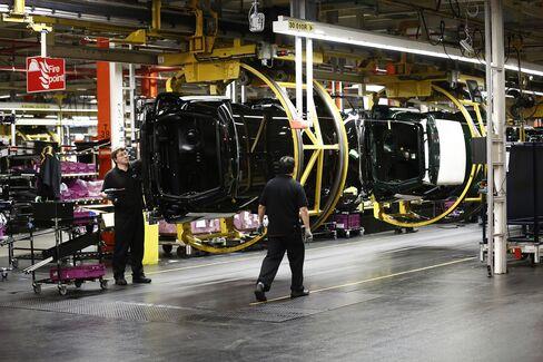 BMW Mini Production in Oxford