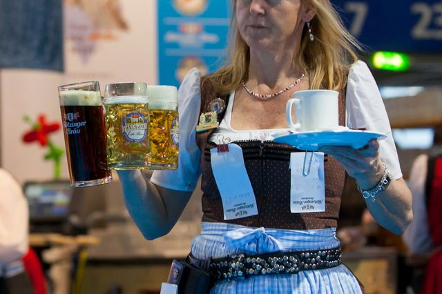 Germany's glass is more than half full.