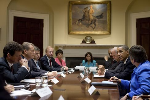 The talks culminated in a private Oval Office session