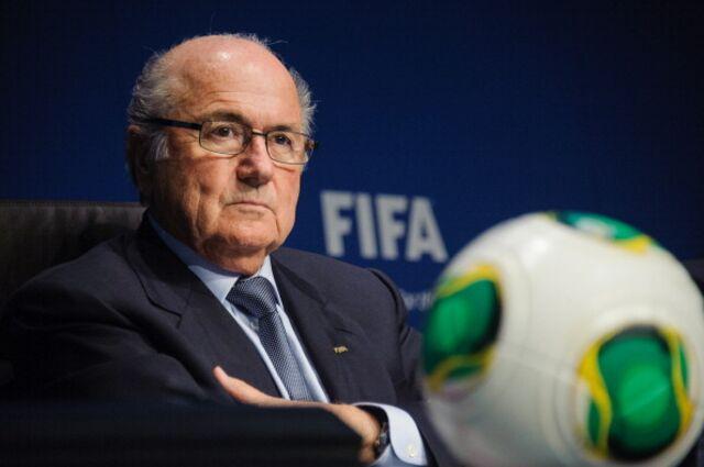 Sepp Blatter, showing that fire inside.