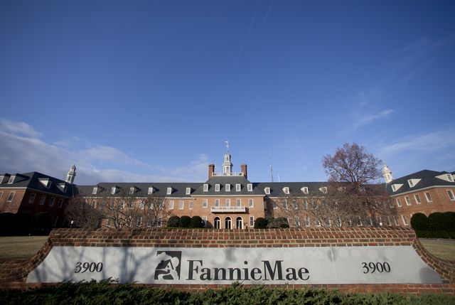 Fannie Mae exists today solely because taxpayers covered its losses for years. Photographer: Andrew Harrer/Bloomberg