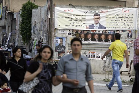 Syrians Vote for New Parliament in Polls Rejected by Opposition