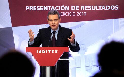 Inditex SA Chief Executive Officer Pablo Isla