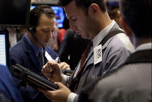 U.S. Stocks Advance as HP Rally Overshadows Economic Report