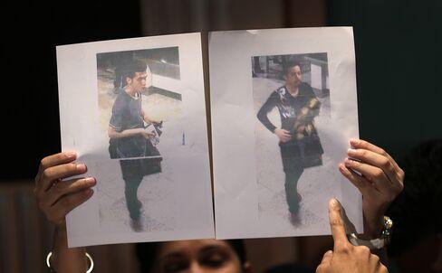 Stolen Passport Users on Missing Malaysian Flight