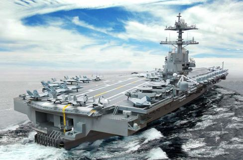 Gerald Ford Carrier May Have $1.1 Billion Overrun