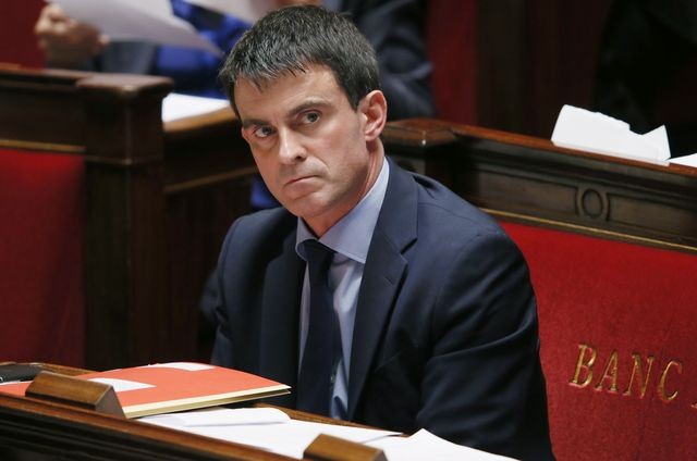 Can Europe believe in French Prime Minister Manuel Valls? Photographer: Patrick Kovarik/AFP/Getty Images