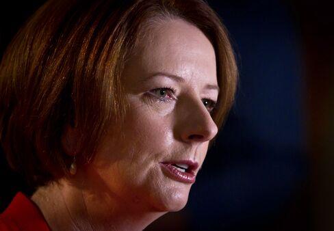 Gillard Surplus Amid BHP Slump Cuts Bond Risk: Australia Credit