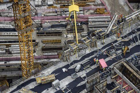 Construction at Odebrecht SA's Parque da Cidade Development