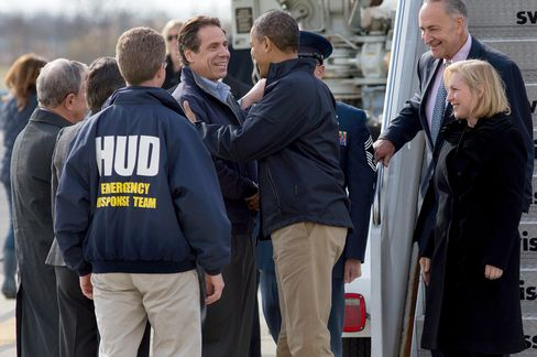 Obama Seeks to Avoid Katrina-Response Comparison in Sandy Effort