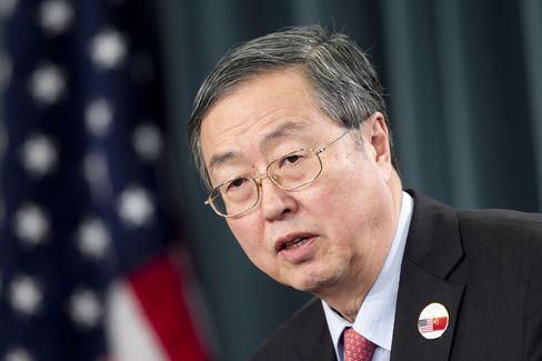 The People's Bank of China Governor Zhou Xiaochuan