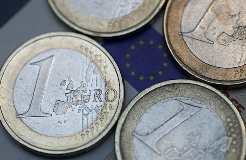 Euro, Spanish Bonds Strengthen on Moody's Rating