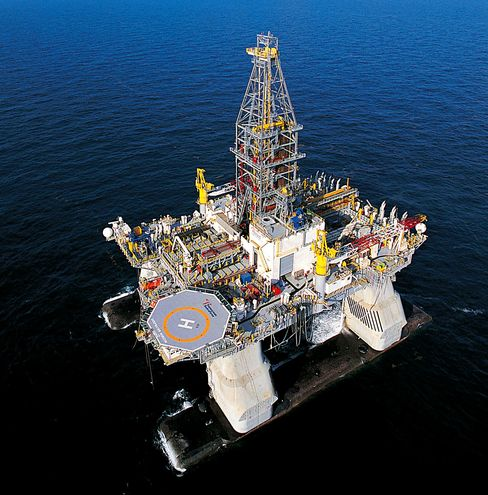 The Transocean Ltd. Deepwater Horizon oil rig