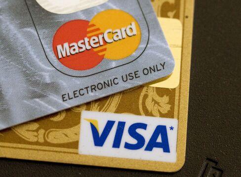 Visa and MasterCard Climb