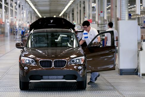 BMW to Quadruple China Capacity With Second Factory in Country