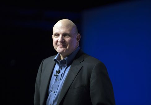 Ballmer Fortune Up $625 Million on Microsoft CEO Departure Plans