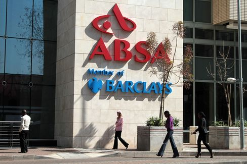 Barclays to Boost Absa Stake in $2.1 Billion Share Transaction