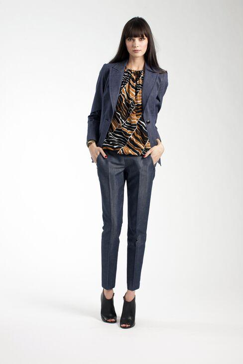 Denim Corsets at Macy's Push Fashion Craze to Next Level