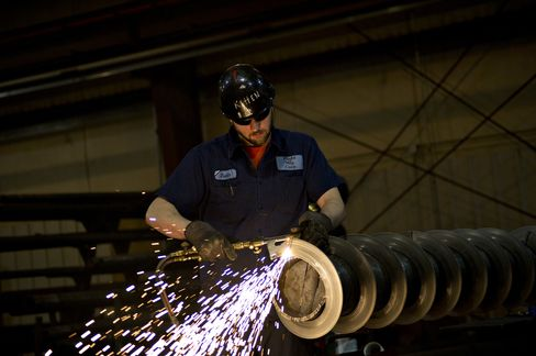 ISM Index of U.S. Manufacturing Increased to 54.1