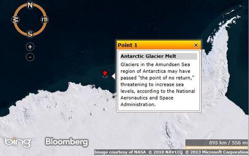 Arctic Glacier Melt