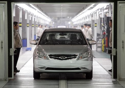 Hyundai Profit Beats Estimates on China, i10 Minicar in Europe