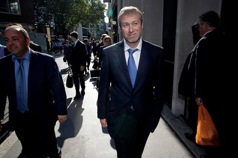 Most Charitable Russian Abramovich Leads Country's Billionaires