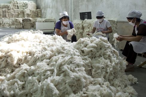 China Cotton Planting May Fall By 10% on Increasing Labor Costs