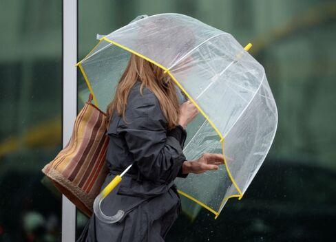 Heavy Rain Causing Air Delays Forecast Across Eastern U.S.