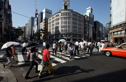 Japan Land-Price Declines Slow as Credit Flows
