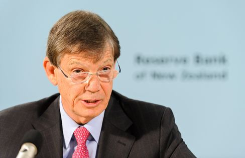 Reserve Bank Of New Zealand Governor Graeme Wheeler