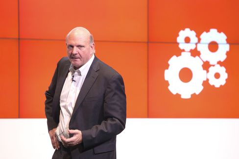 Ballmer Says Microsoft a 'Two-Trick Pony,' Working on the Third