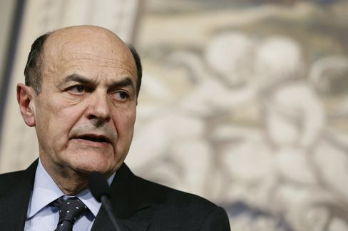 Italy's Incmoing Prime Minister