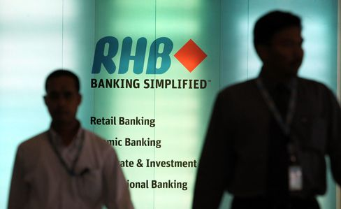 RHB Capital's Biggest Investor Said to Mull Buying Rest of Bank