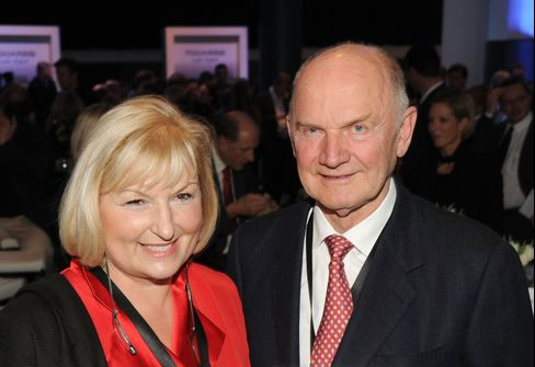 VW Chairman Piech's Wife to Join Board