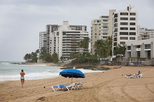 <p>Empty beaches, busted budgets.</p>  Photographer: Joe Raedle/Getty Images